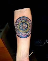 Stained Glass Tattoo 7 Tattoo Seo