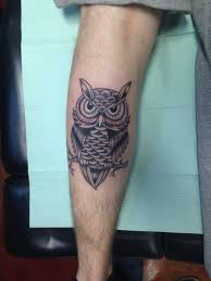 Calf Tattoo 18