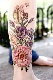 Calf Tattoo 28