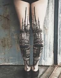 Calf Tattoo 29