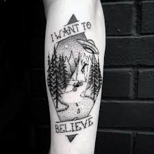 Calf Tattoo 41