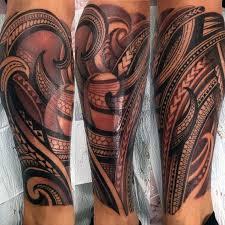 Calf Tattoo 49