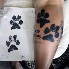 Calf Tattoo 5