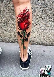 Calf Tattoo 56