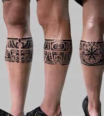 Calf Tattoo 57