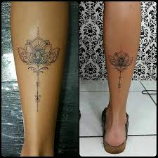 Calf Tattoo 62