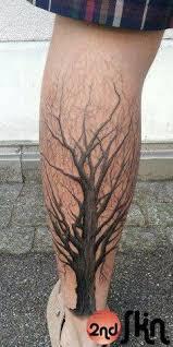Calf Tattoo 7