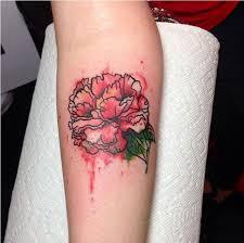 Carnation Tattoo 15