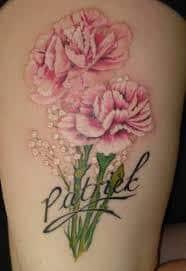 Carnation Tattoo 19