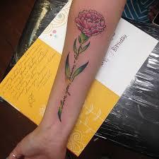 Carnation Tattoo 23