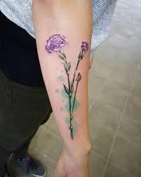 Carnation Tattoo 25
