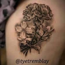Carnation Tattoo 3