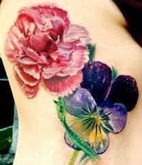 Carnation Tattoo 32