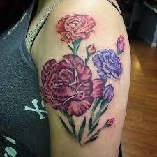 Carnation Tattoo 33