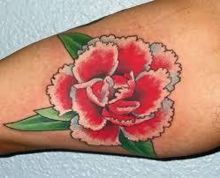 Carnation Tattoo 36