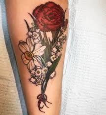Carnation Tattoo 37