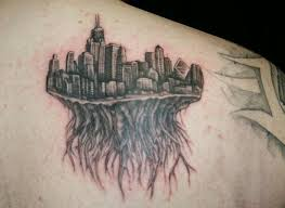 Chicago skyline tattoo 34 tattoo seo for Las vegas skyline tattoo