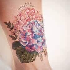 Hydrangea Tattoo (1) – Tattoo SEO