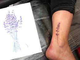 Lavender Tattoo 25