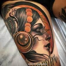 Neo Traditional Tattoo 1