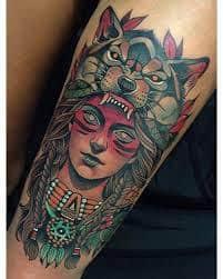Neo Traditional Tattoo 3