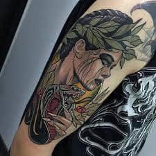 Neo Traditional Tattoo 36