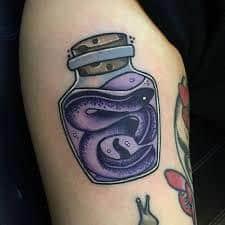 Neo Traditional Tattoo 37