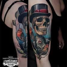 Neo Traditional Tattoo 44