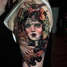 Neo Traditional Tattoo 50