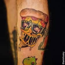 What Does Pizza Tattoo Mean Represent Symbolism