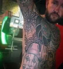 Armpit Tattoo 10