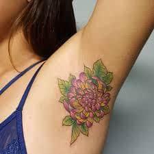 Armpit Tattoo 22