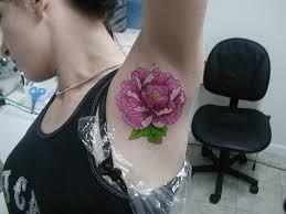 Armpit Tattoo 31