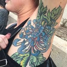 Armpit Tattoo 38