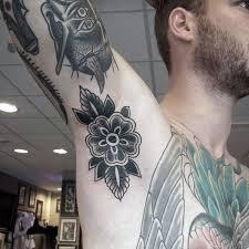 Armpit Tattoo 42