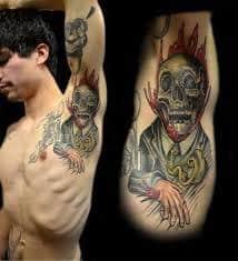 Armpit Tattoo 44