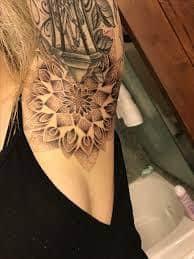 Armpit Tattoo 48
