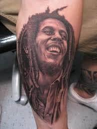 Bob Marley Tattoos 12