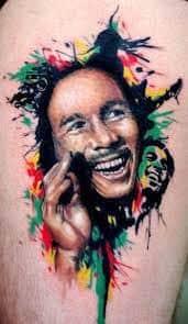 Bob Marley Tattoos 16