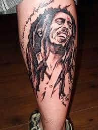 Bob Marley Tattoos 2