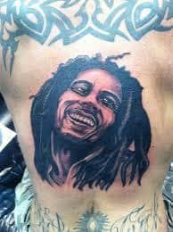 Bob Marley Tattoos 21