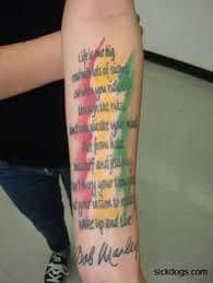 Bob Marley Tattoos 22