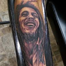 Bob Marley Tattoos 3
