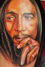 Bob Marley Tattoos 34