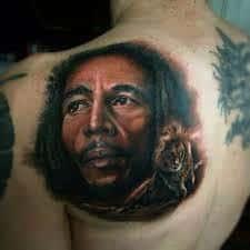 Bob Marley Tattoos 49