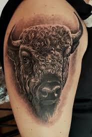 What Does Buffalo Tattoo Mean 45 Ideas and Designs