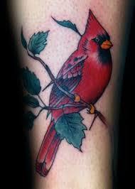 Cardinal Tattoo 14