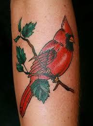 Cardinal Tattoo 21