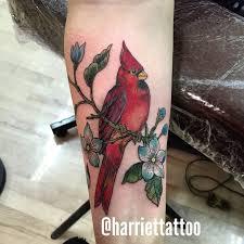 Cardinal Tattoo 24