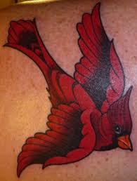 Cardinal Tattoo 28